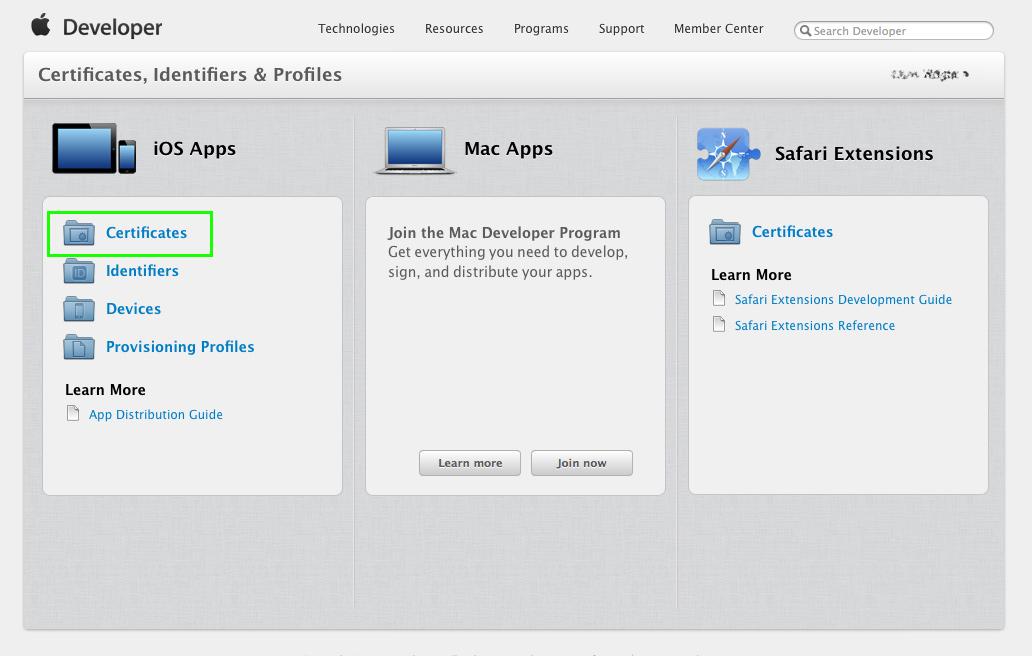 Apple Certificates Deltadna Documentation